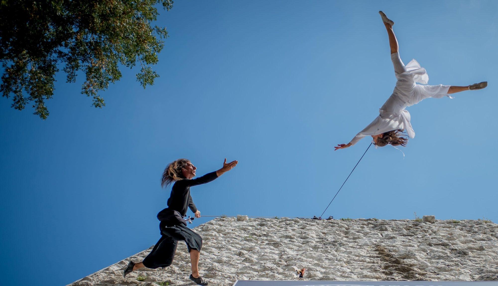 danse verticale vertical dance
